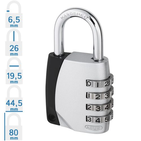 ABUS 155/40 számkombinációs lakat
