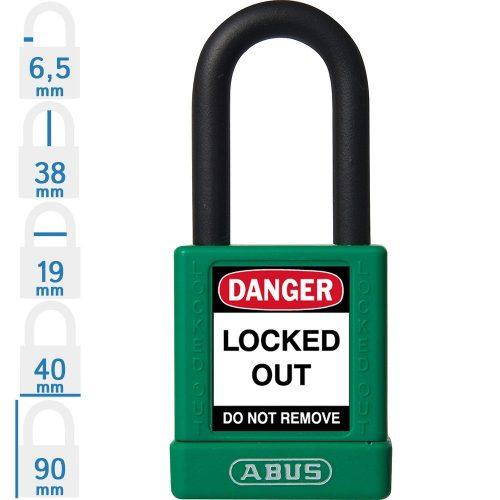 ABUS 74/40 KA LOTO munkavédelmi kizáró lakat (egykulcsos lakatok)