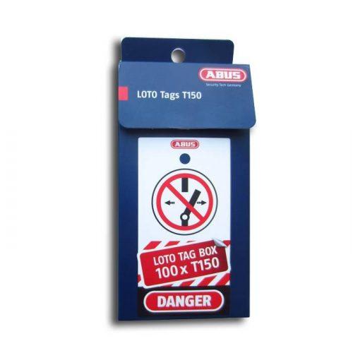 ABUS T150 LOTO munkavédelmi Tagout tábla