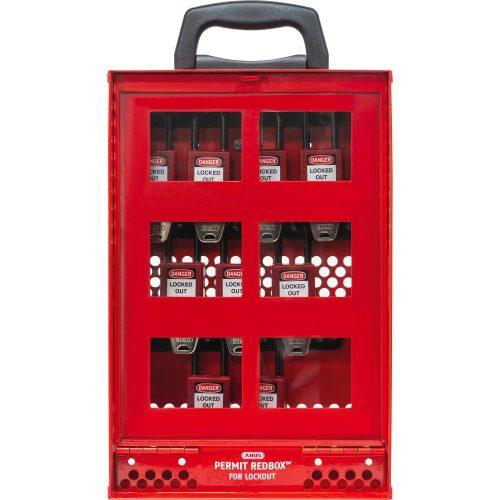 ABUS B810 Permit Redbox LOTO munkavédelmi eszköz tároló