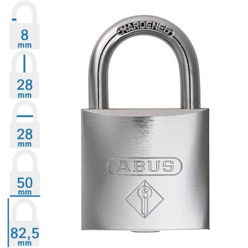 Abus Bravus 480 - Több lakat azonos kulccsal