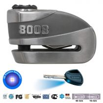 Abus Granit Detecto X-Plus 8008 riasztós féktárcsazár - motor tárcsafék lakat