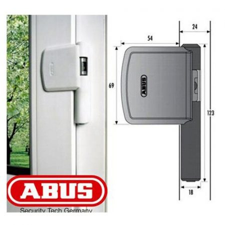 ABUS FAS 101 kiemelésgátló ablakzár