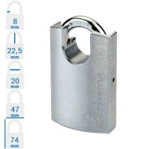 Mul-T-Lock G47P Integrator biztonsági lakat (egykulcsos lakatok)